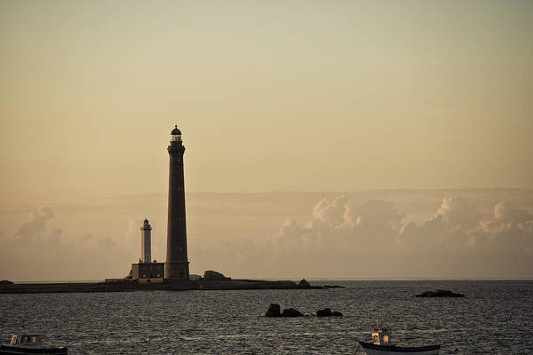 Atlantic Ocean Photograph - Lighthouse by Nailia Schwarz