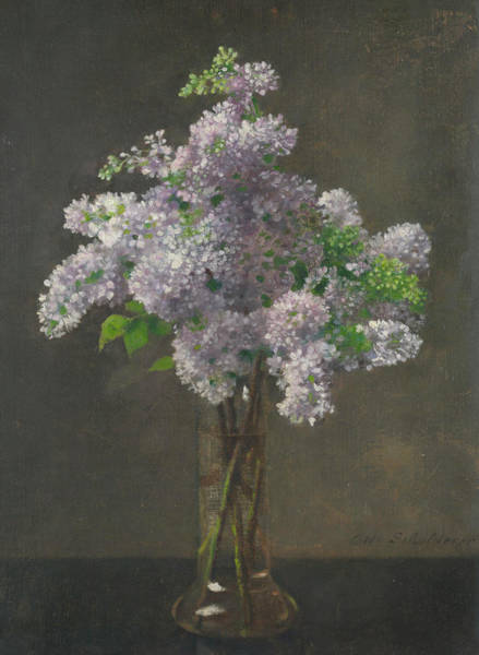 Containers Painting - Lilac by Otto Franz Scholderer