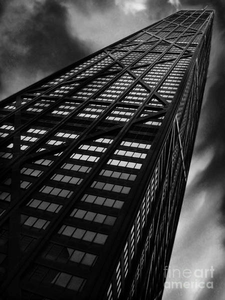 Chicago Black White Wall Art - Photograph - Limitless by Dana DiPasquale