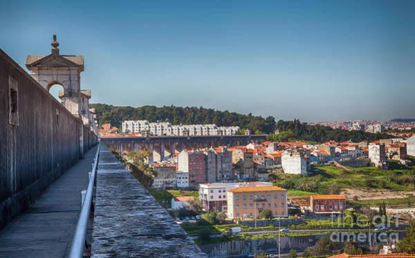 Photograph - Lisbon's City Panorama by Ariadna De Raadt