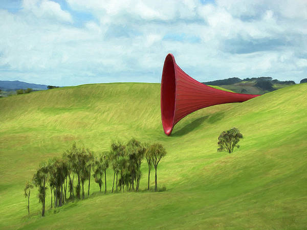 Painting - Listening Post by Dominic Piperata