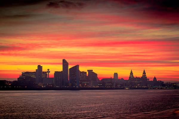 Wall Art - Photograph - Liverpool Skyline by Peter OReilly