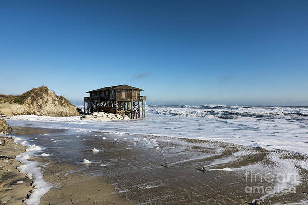 Oceanfront Photograph - Living On The Edge by John Greim