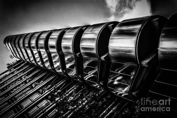 Photograph - Lloyds Building, London, Uk. by Nigel Dudson