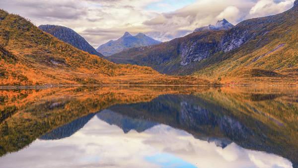 Photograph - Lofoten Lake by James Billings