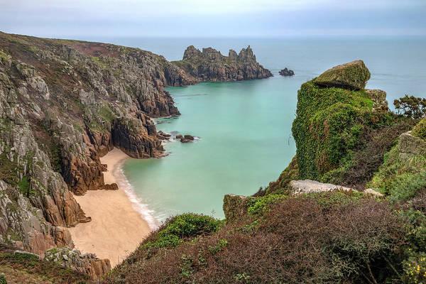Penwith Photograph - Logan Rock - Cornwall by Joana Kruse
