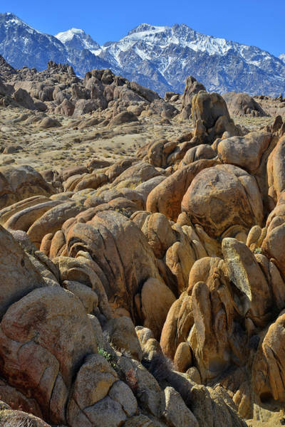Photograph - Lone Pine's Alabama Hills by Ray Mathis