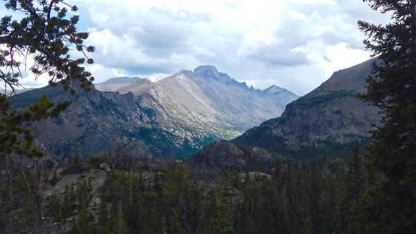 Photograph - Longs Peak by Dan Miller