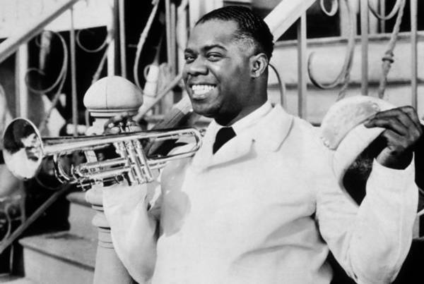 Soul Photograph - Louis Armstrong by American School