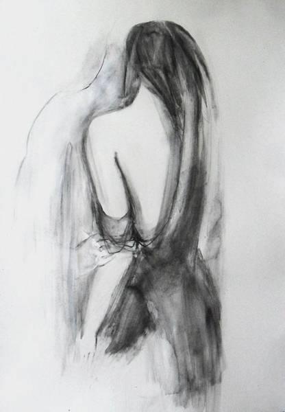 Drawing - Love by Alina Louka