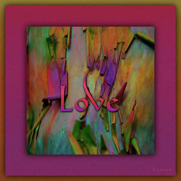 Digital Art - Love by Richard Laeton