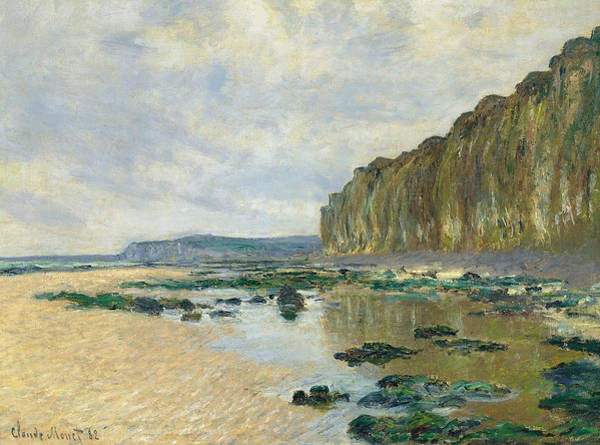 Painting - Low Tide At Varengeville by Claude Monet