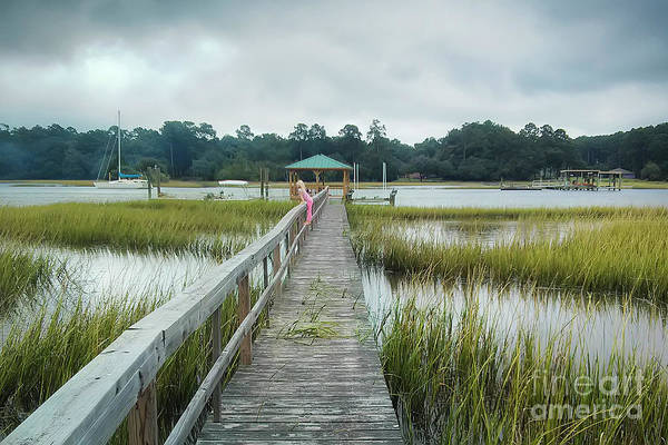 Photograph - Lowcountry Dock by Dustin K Ryan