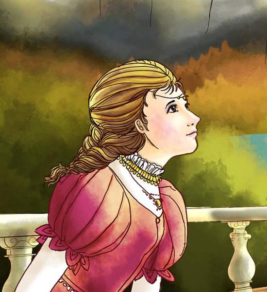 Painting - Princess Lucinda  Reunites The Royal Family by Reynold Jay