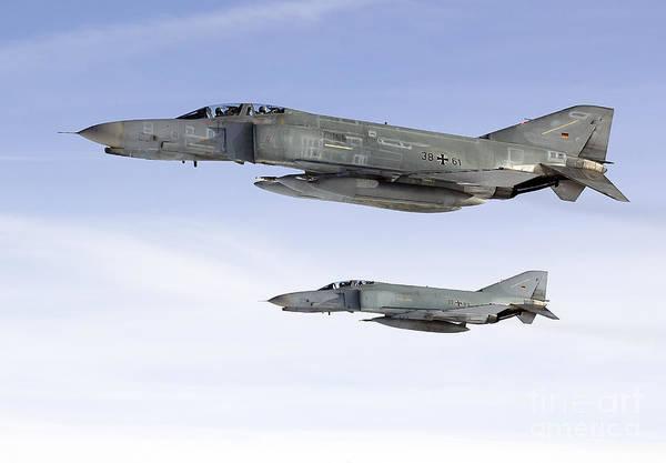 Interceptor Photograph - Luftwaffe F-4f Phantom II by Gert Kromhout