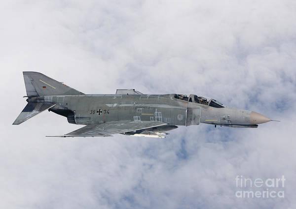 Interceptor Photograph - Lufwaffe F-4f Phantom by Gert Kromhout