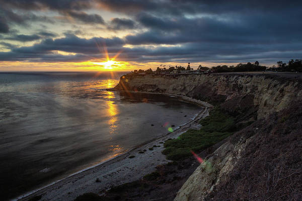 Photograph - Lunada Bay At Sunset by Andy Konieczny