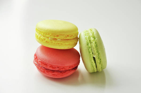 Wall Art - Photograph - Macarons by Happy Home Artistry