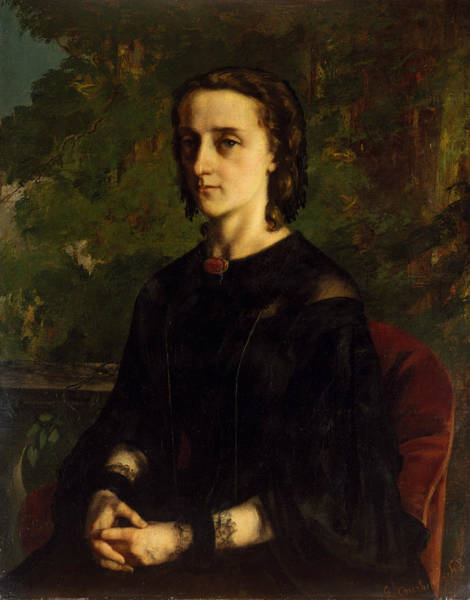 Painting - Madame De Brayer by Gustave Courbet