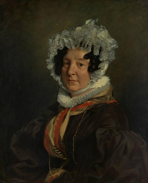 Painting - Madame Henri Francois Riesener by Eugene Delacroix