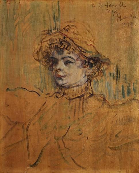 Painting - Mademoiselle Nys by Henri De Toulouse-Lautrec