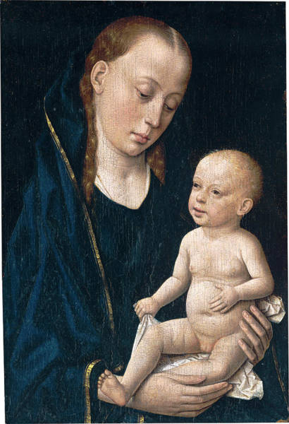Painting - Madonna And Child by Dirck Bouts