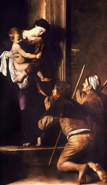 Painting - Madonna Di Loreto by Caravaggio