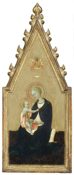 Painting - Madonna Of Humility by Sassetta