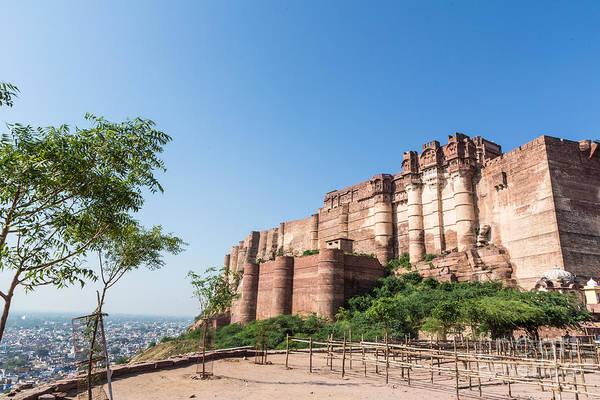 Photograph - Majestic Jodhpur by Didier Marti
