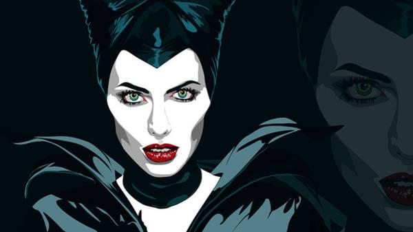 Maleficent Digital Art - Maleficent by Dorothy Binder