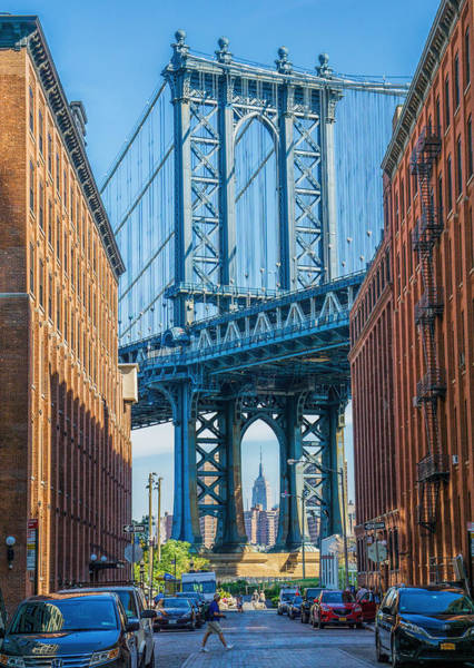 Wall Art - Photograph - Manhattan Bridge by June Marie Sobrito