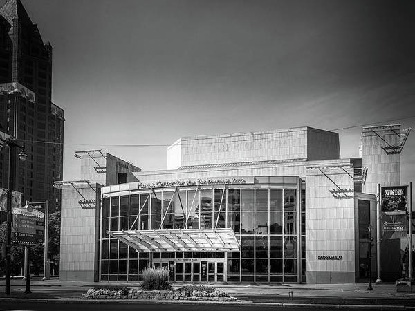 Wall Art - Photograph - Marcus Center In Black And White by Art Spectrum
