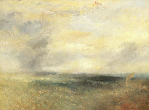 Ocean Scape Painting - Margate, From The Sea by Joseph Mallord William Turner