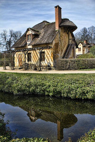 Wall Art - Photograph - Marie Antoinette Cottage In Versailles by David Smith
