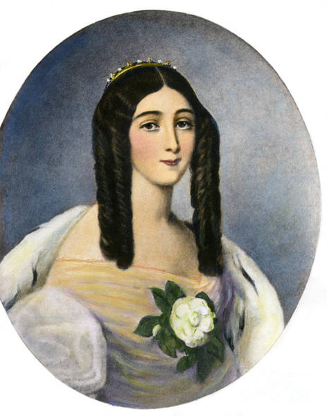 Drawing - Marie Duplessis by Granger