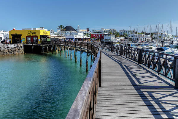 Harbour Island Photograph - Marina Rubicon - Lanzarote by Joana Kruse