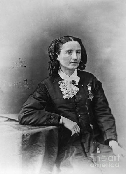 Medal Of Honor Photograph - Mary Edwards Walker by Granger