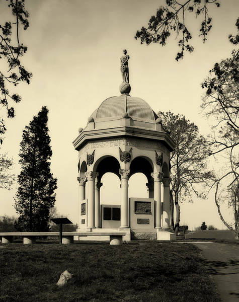 Battleground Photograph - Maryland Monument - Antietam by Mountain Dreams