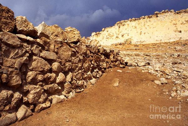 Wall Art - Photograph - Masada by Thomas R Fletcher