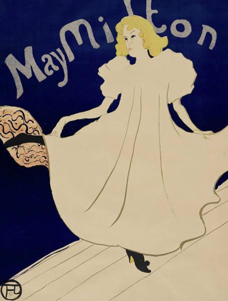 Wall Art - Painting - May Milton by Henri de Toulouse-Lautrec