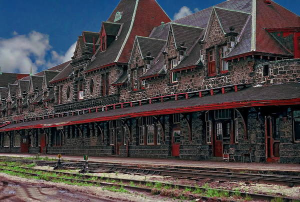 Photograph - Mcadam Train Station by Anthony Dezenzio