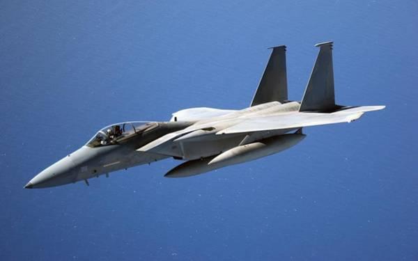 Transportation Digital Art - Mcdonnell Douglas F-15 Eagle by Super Lovely
