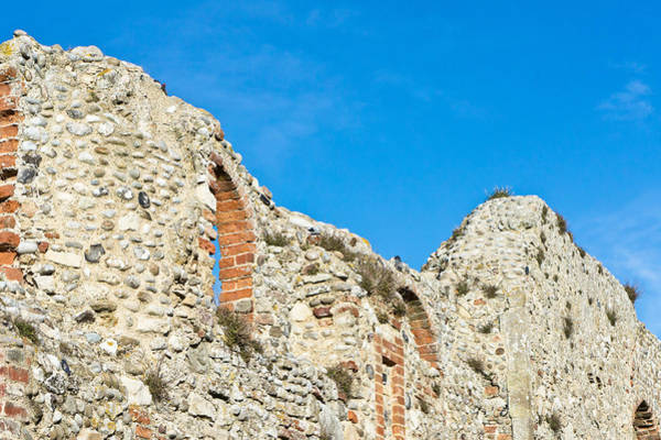 Wall Art - Photograph - Medieval Wall by Tom Gowanlock