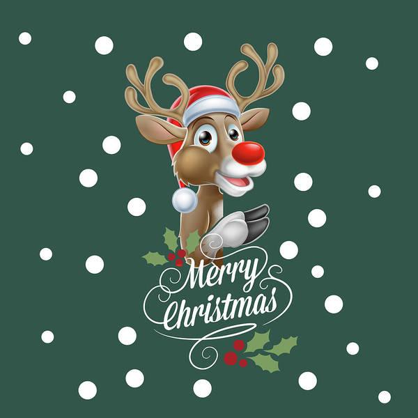 Xmas Digital Art - Merry Christmas by Mark Ashkenazi