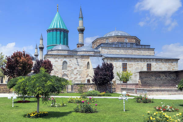 Wall Art - Photograph - Mevlana Museum Konya - Turkey by Joana Kruse