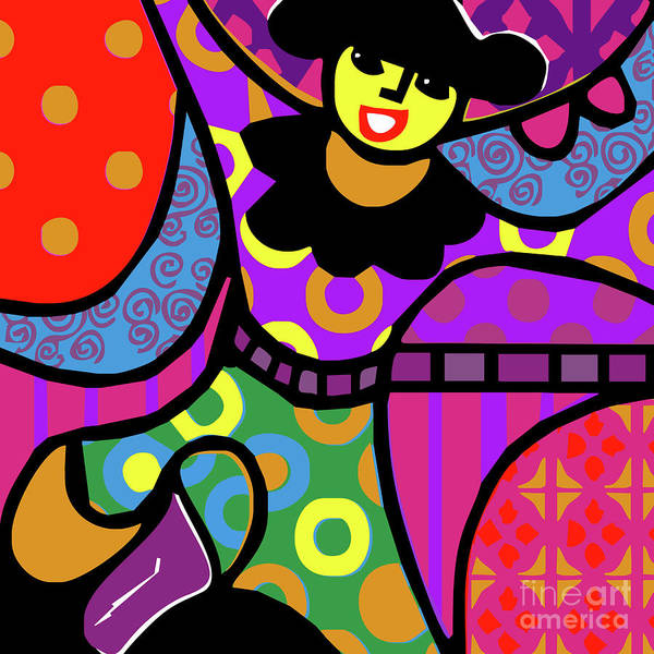 Mac Mixed Media - 'mia' by Bobbie Mac
