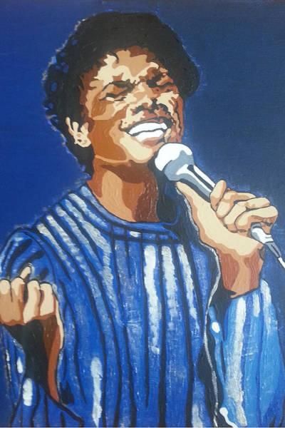 Painting - Michael Jackson by Rachel Natalie Rawlins