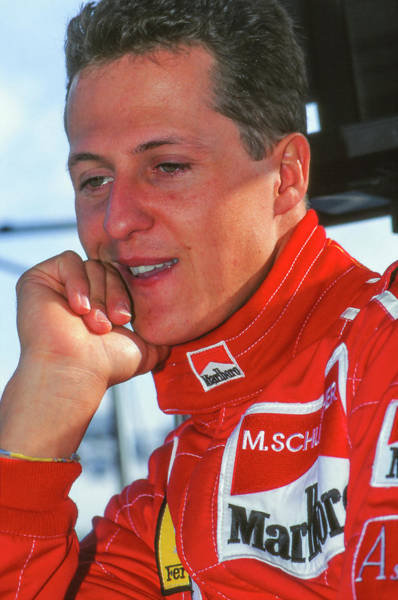 Brembo Photograph - Michael Schumacher by Jose Bispo