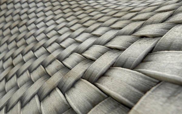 Cloth Digital Art - Micro Fabric Weave Dirty by Allan Swart