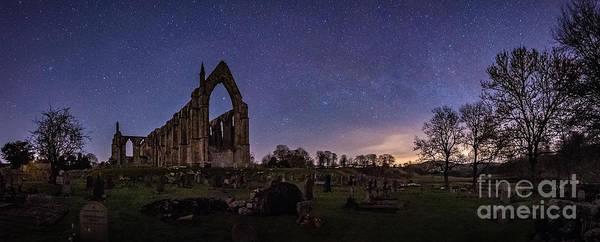 Photograph - Milky Way @ Bolton Abbey by Mariusz Talarek